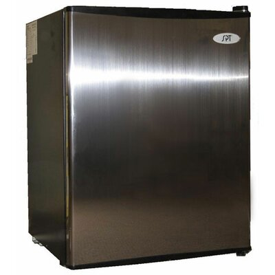 SPT Compact Refrigerator in Stainless