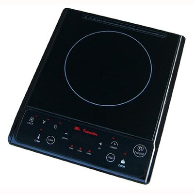 SPT Micro Induction Cooktop in Black