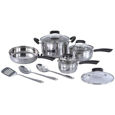 SPT Stainless Steel 11-Piece Cookware Set