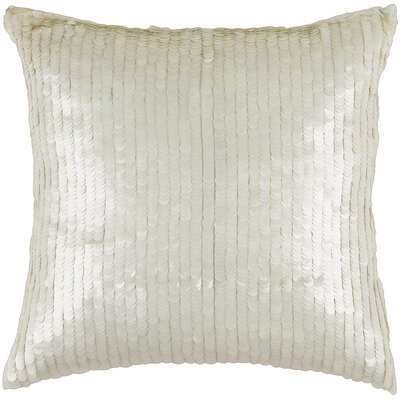 "Rizzy Home T-3063 18"" Decorative Pillow in Ivory"