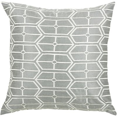 "Rizzy Home T-3572 18"" Decorative Pillow in Grey"