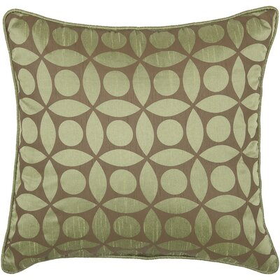 "Rizzy Home T-3600 18"" Decorative Pillow in Off Green / Brown"
