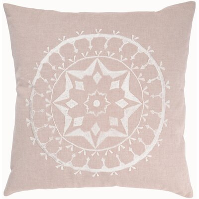 "Rizzy Home T-3455A 18"" Decorative Pillow in Flax"