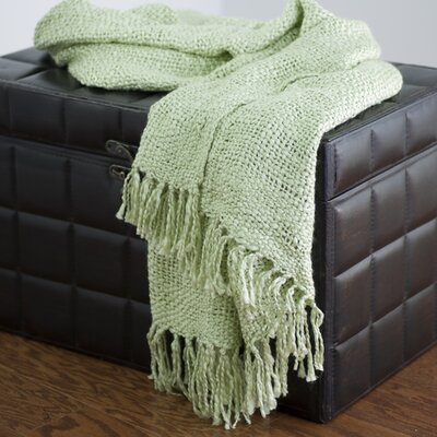Rizzy Home T-0118 Throw in Mint