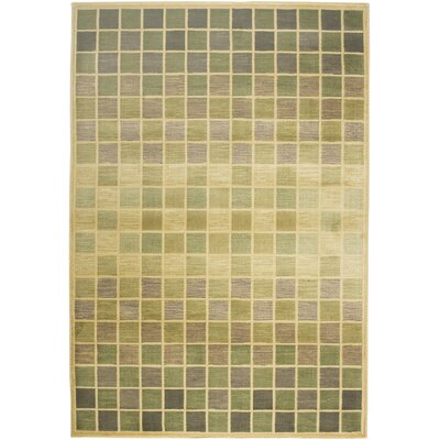 Rizzy Home Sorrento Green/Beige Rug