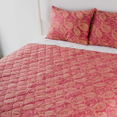 Paisley 3 Piece Quilt Set