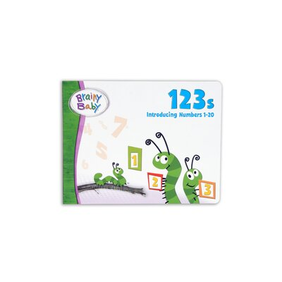 The Brainy Baby 123s Board Book
