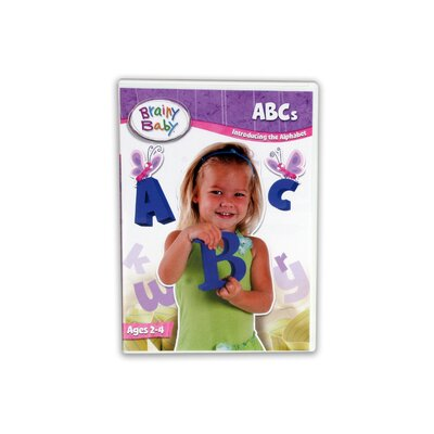 The Brainy Baby Single ABCs DVD