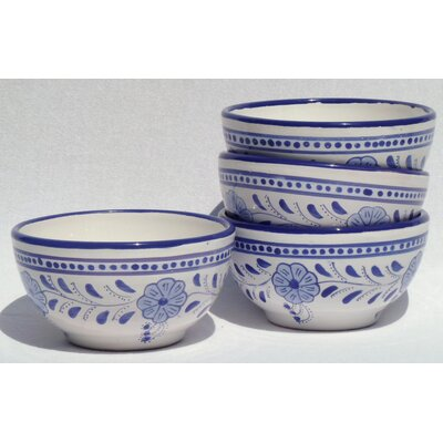 Le Souk Ceramique Azoura Design Soup / Cereal Bowl (Set of 4)