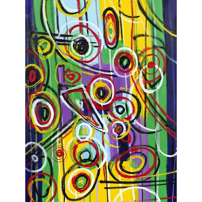 Moe's Home Collection Color Swirl Wall Art