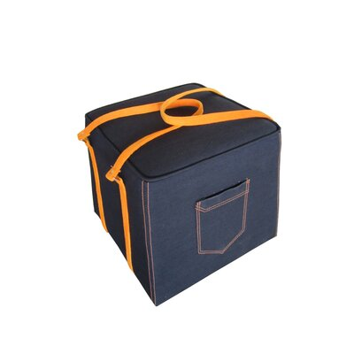 Moe's Home Collection Bagaglio Cube Ottoman