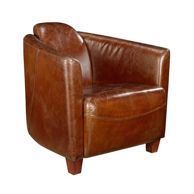 Moe's Home Collection Salzburg Leather Chair