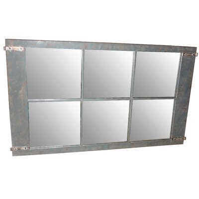 Moe's Home Collection Rustic Metal Mirror II