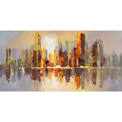 City Life Canvas Wall Art