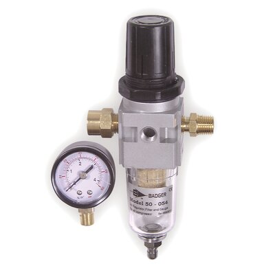 Badger Air Regulator,Filter & Gauge