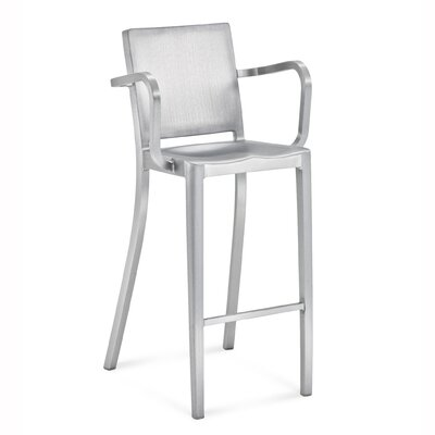 Emeco Hudson Barstool with Arms