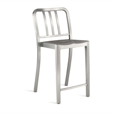 Emeco Heritage Stacking Counter Stool