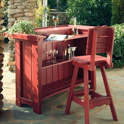 Uwharrie Chair Companion Outdoor Bar Stool