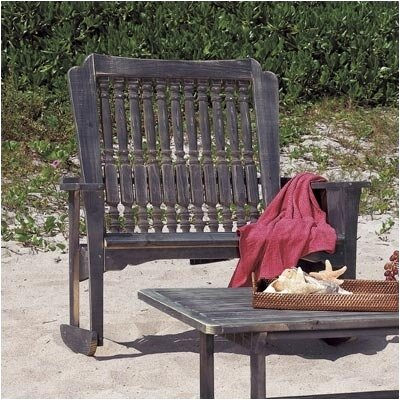 Hatteras Settee Rocking Chair