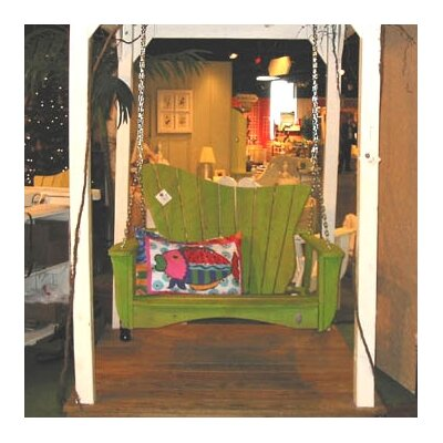 Uwharrie Chair Wave Porch Swing
