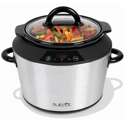 Toastess 5 Qt Digital Slow Cooker