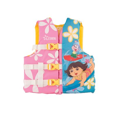Nickelodeon Dora the Explorer PFD 3053 Youth Life Jacket