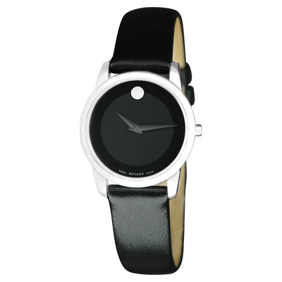 Movado Women's Museum Watch with Leather Strap