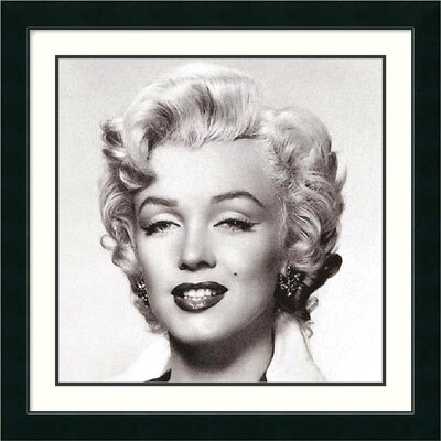 Marilyn Monroe Portrait by Anonymous, Framed Print Art - 27.12