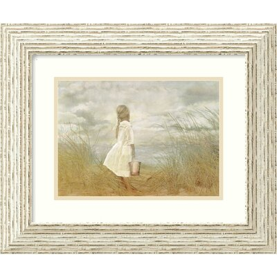 Amanti Art There's Always Tomorrow by Betsy Cameron, Framed Print Art - 14.5&quot; x 17.5&quot;