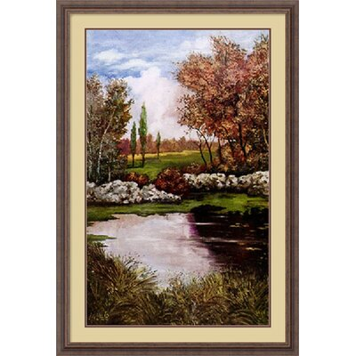 "Amanti Art Shadowlands II by Luigi Ullio, Framed Print Art - 38.3"" x 26.3"""
