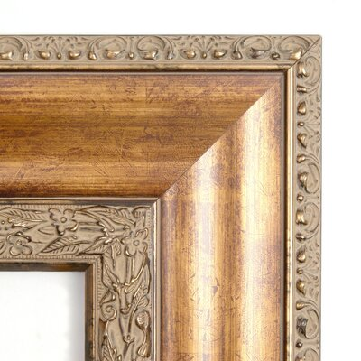 Amanti Art Vienna Large Mirror in Antique Burnished Bronze