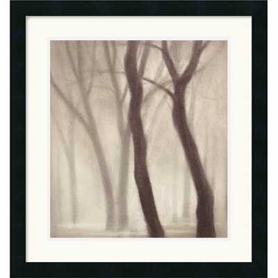 Forest III Framed Art Print by Gretchen Hess