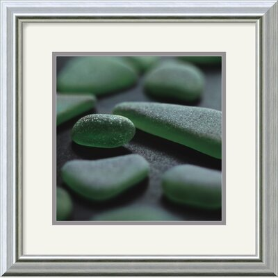 Sea Glass - Jade by Celia Pearson Framed Fine Art Print - 15.99