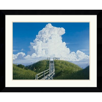 "Amanti Art Above and Beyond  by Jack Saylor Framed Fine Art Print - 25.62"" x 31.62"""