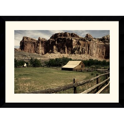 "Amanti Art Fruita Barn by Andy Magee Framed Fine Art Print - 28.62"" x 38.62"""