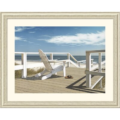 Sun Deck by Daniel Pollera Framed Fine Art Print - 33.88