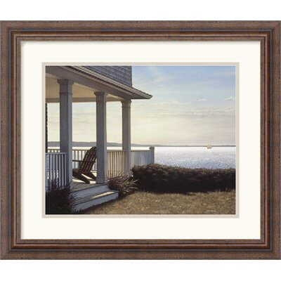 The Hamlet by Daniel Pollera Framed Fine Art Print - 17.30