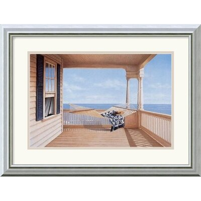 "Amanti Art A Summer Place by Daniel Pollera Framed Fine Art Print - 15.99"" x 19.99"""