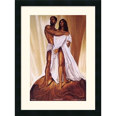 "Amanti Art Power of Love by Wak - Kevin A. Williams Framed Fine Art Print - 24"" x 18"""