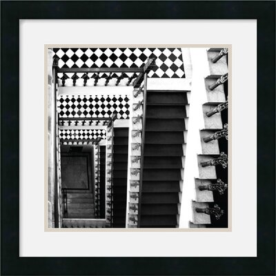 "Amanti Art Architectural Detail No. 34 by Ellen Fisch Framed Fine Art Print - 18"" x 18"""