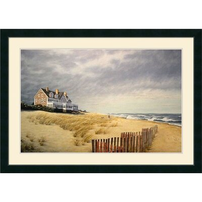 Beach House by Daniel Pollera Framed Fine Art Print - 31.21