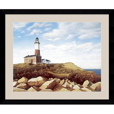"Amanti Art Turtle Cove Hill by Daniel Pollera Framed Fine Art Print - 30.62"" x 36.62"""