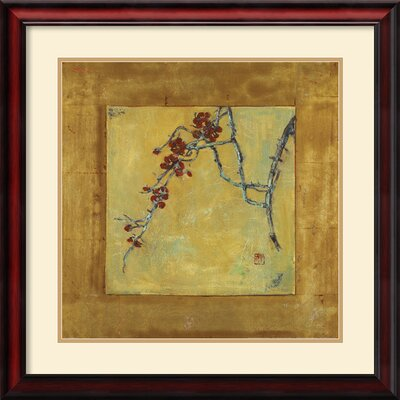 Chinese Blossoms II Framed Print by Jill Barton