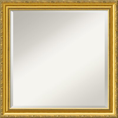 Colonial Embossed Square Wall Mirror