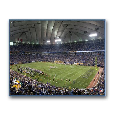 Artissimo Designs NFL Stadium Canvas Art