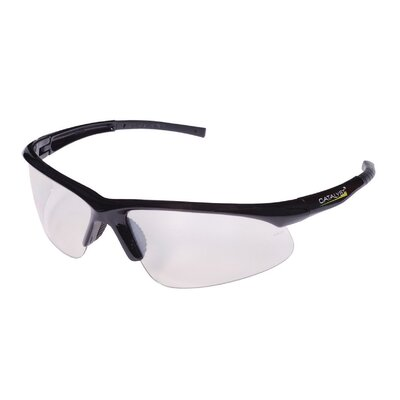 Catalyst Dual Wrap-Around Safety Glasses with Indoor-Outdoor Lens