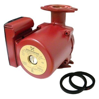 Grundfos 1/6 HP 115V 1-Speed Bronze Flange Pump