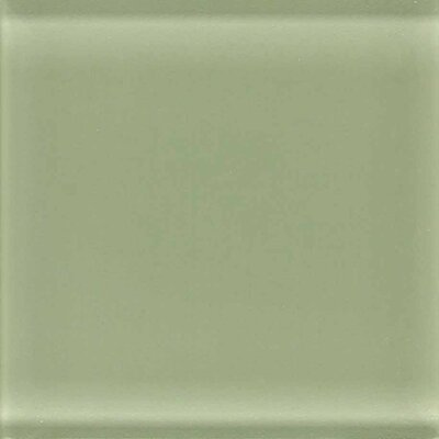 "American Olean Legacy Glass 4-1/4"" x 4-1/4"" Glazed Field Tile in Jade"