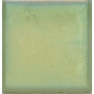 "Emser Tile Mystique 4 1/4"" x 4 1/4"" Glass Field Tile in Piatte"