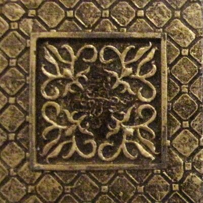 "Emser Tile Camelot 2"" x 2"" Igraine Dot in Bronze"